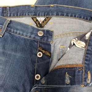 Lucky Brand Big and Tall Bootleg Jeans Size 40